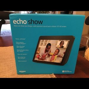 "Amazon Echo Show 2nd Addition 10"" Smart Assistant"